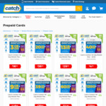 Catch Connect 90 Day 54GB Mobile Prepaid Plan $15 Delivered With $5 Cashback @ Cashrewards (New Services Only)