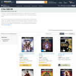 4K Movies 2 for $30 + Delivery ($0 with Prime/ $39 Spend) @ Amazon AU