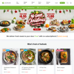 Youfoodz Flash Sale - Many Meals down to $5.95 + $1 Snacks (+ $20 off Code)