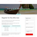 Earn up to 40,000 Qantas Points with Qantas Travel Money Card