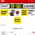 20-50% off Storewide, (50% off Nexgrill, 20% off Leading Brand Barbeques) BBQs, Outdoor Living and More @ Barbeques Galore