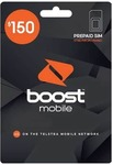 Boost Prepaid $129.99 | 12 Months Expiry | 80GB Data | Unlimited Talk & Text | Overseas* @ Cellmate
