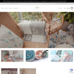 30% off Personalised Baby Blankets + Free Shipping @ Avalon Bebe