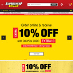 10% off Sitewide with Any Online Purchase @ Supercheap Auto