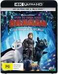 How to Train Your Dragon: The Hidden World (4K Ultra HD + Blu-Ray) $15 + Delivery ($0 with Prime/ $39 Spend) @ Amazon AU