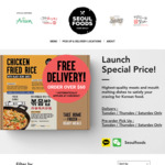 [NSW] up to 25% off All Meals Range - from $6.90 (Free Delivery Orders Minimum $60) @ SEOULFOODS