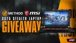 Win a GS75 Stealth Gaming Laptop from Method & MSI