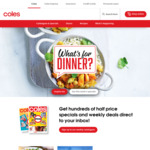 Earn 10,000 flybuys Points with $50-$400 Spend Per Week for 4 Weeks @ Coles