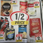 [QLD] Campbell's Canned Soup Varieties $0.50, Nescafe Blend 43 500g $10, Pepsi 300ml 4pk $2.50 @ IGA