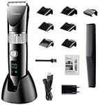 Hatteker Hair Trimmer Pro Cordless USB Rechargeable Waterproof LED Display $49.29 Delivered @ Hatteker Amazon AU