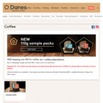 Free 250g Bag of Affinity Blend with Purchases above $50 (Valued at $17) @ Danes