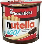 Nutella & Go Hazelnut Spread with Breadsticks 48g $1 (60% off) @ Woolworths