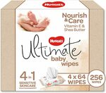 Huggies Ultimate Baby Wipes 64 x 4 Pack $12 (S&S $10.20) + Delivery ($0 with Prime / $39 Spend) @ Amazon AU