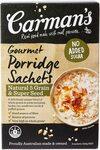 Carman's Gourmet Porridge Sachets Natural 5 Grain 8-Pack $1.60 (Minimum 5) + Delivery ($0 with Prime/ $39 Spend) @ Amazon AU