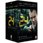 24 - Complete Season 1-8 + Redemption [DVD] for Approx $52 from Amazon UK