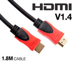 Catch of The Day - Tecom 1.8m HDMI Cable V1.4 -- FREE + $5.95 Australia-Wide Postage!