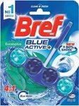 Bref Blue Active Eucalyptus, Rim Block Toilet Cleaner, 50g, Eucalyptus $2.49/ $2.24 (S&S) + Delivery ($0 Prime/$39+) @ Amazon AU
