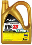 Nulon Full Synthetic 5W-30 Long Life Performance Engine Oil 5L $28.53 (up to 4 for $22.82 Each Delivered) @ Sparesbox eBay