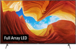 "Sony 55"" KD-55X9000H Full Array LED 4K Android TV (+Bonus $100 Digital Gift Card) - $1519.05 Delivered @ Sony"