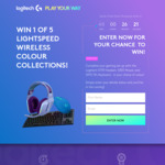 Win 1 of 5 Logitech G Colour Keyboard/Headset/Mouse Collections Worth $779.85 from Logitech