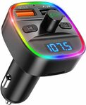 Bluetooth FM Transmitter for Car, Radio Transmitter $17.24 + Delivery ($0 with Prime/ $39 Spend) @ AMIR&ORIA Direct via Amazon