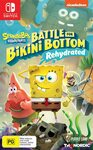 [Switch] Spongebob Battle for Bikini Bottom Rehydrated - $35 + Delivery ($0 with Prime/ $39 Spend) @ Amazon AU