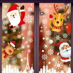20% off Christmas Window Stickers Indoor Decorations $7.99 (Was $9.99) + Delivery ($0 with Prime/ $39 Spend) @ Seyarlh Amazon