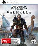 [PS5, XSX, PS4, XB1] Assassin's Creed Valhalla $59, Immortals Fenyx Rising $48 (Switch, PS5, XSX, PS4, XB1) Delivered @ AmazonAU