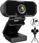 USB Webcam 1080p $22.98 + Delivery ($0 with Prime or $39 Spend) @ Zi Qian via Amazon AU