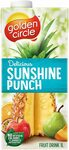 3x Golden Circle Tropical / Sunshine Punch Fruit Drink 1L $3.36 + Delivery ($0 with Prime/ $39 Spend) @ Amazon AU