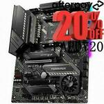 [Afterpay] MSI MAG X570 TOMAHAWK Wi-Fi AM4 ATX Motherboard $255.2 Delivered @ Shopping express via eBay