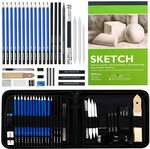 37 Pack Sketch Pencil Set $23.09 (Orig. $32.99) + Delivery ($0 with Prime/ $39 Spend) @ Shuttle Art via Amazon AU