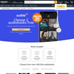 [Audiobook] 2 Audible Credits When You Join a Free Trial, Prime Members Also Get Bonus $15 Voucher @ Audible via Amazon AU
