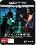 John Carpenter Collection - Escape from New York/Prince of Darkness/They Live/The Fog (4K UHD) - $19.95 /+ Delivery @ JB Hi-Fi