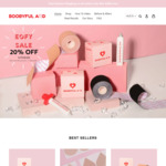 20% off Sitewide Boob Tape & Nipple Covers + Delivery (Free with $60 Spend) @ Boobyful Aid