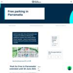 [NSW] Spend $20 @ Select Retailers & Get Free Parking Voucher for 16hrs (Eat Street + City Centre Carpark) @ Parramatta