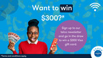 Win a $300 VISA Gift Card from Canstar Blue