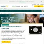Suncorp Clear Options Platinum Card 100,000 Bonus Reward Pts, Half Price First Year Fee ($64), Spend $3000 in 90 Days