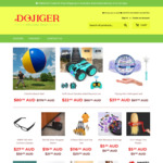 Free Shipping on All Products @ Dojiger