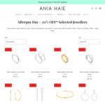 20% off Selected Jewellery + $9 Delivery ($0 with $99 Order) @ Ania Haie