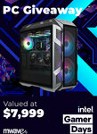 Win an Intel i9-11900K/RTX 3090 Gaming PC Worth $7,999 from Mwave