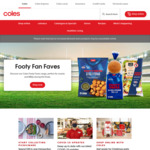 $10 off $150 Spend at Coles Online (Excl. NSW & ACT)