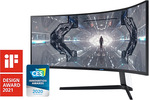 """Samsung Odyssey G9 49"""" DQHD 240Hz QLED Monitor $1,999 Delivered @ Samsung Store"""