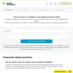 $20 off/Month nbn for 6 Months: Unlimited 100/20 $79, 100/40 $89, 250/25 $109, 1000/50 $129 for New Customers @ Aussie Broadband