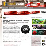 Huge List of Sales from EA, Chillingo, Firemonkeys and Popcap iOS iTunes Apps
