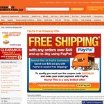 Chemist Direct: Free Delivery with Any Orders over $49 Using PayPal