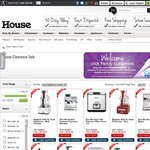 House Online - Additional 25% off All Prices Incl Sale Items (Excl Appliances) until Midnight!