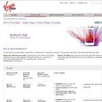 Virgin Mobile BYO $20 Free 1GB Bonus