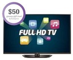"""60"""" FHD LG Plasma $1049 w/ Free Delivery and $50 COLES Giftcard @ Betta"""