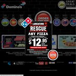 $5 Pizza from Domino's Sunshine West Til 6pm